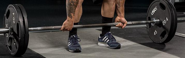 Правильная обувь для становой тяги