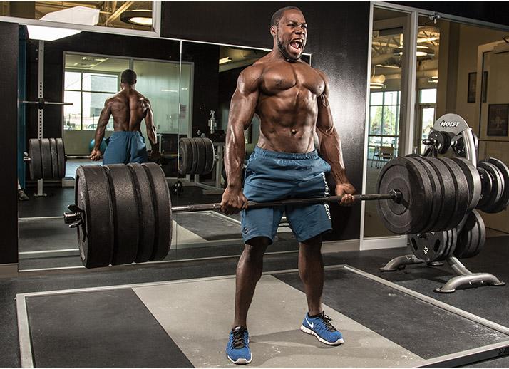 «Никогда не позволяйте себе расслабляться во время тренировок».