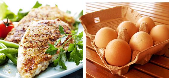 Правильное питание для набора мышечной массы для девушек с примером меню на неделю