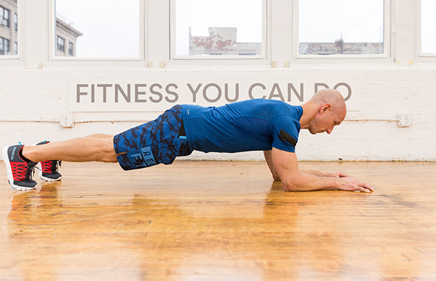 Правильное выполнение упражнения планка