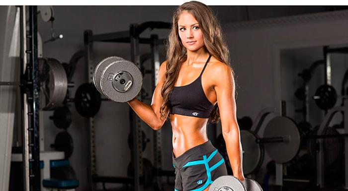 Тренировки для девушек в зале
