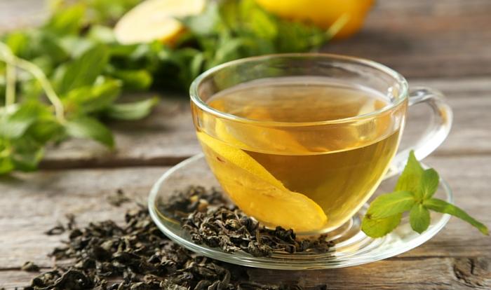 Зеленый чай способствует ускорению обмена веществ