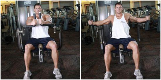 Как накачать объемные грудные мышцы мужчине в тренажерном зале