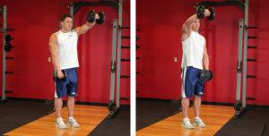 Комплекс упражнений на плечи с гантелями для активного роста дельтовидных мышц