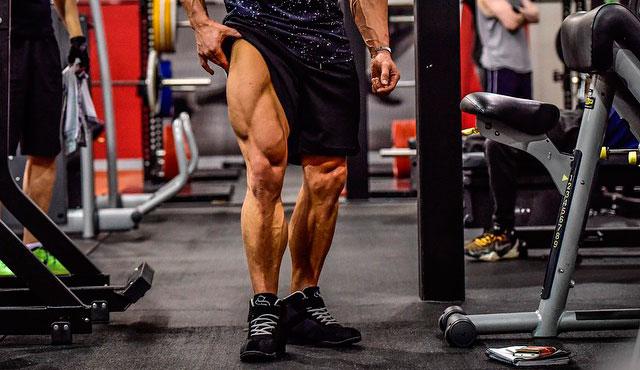 Тренированные ноги