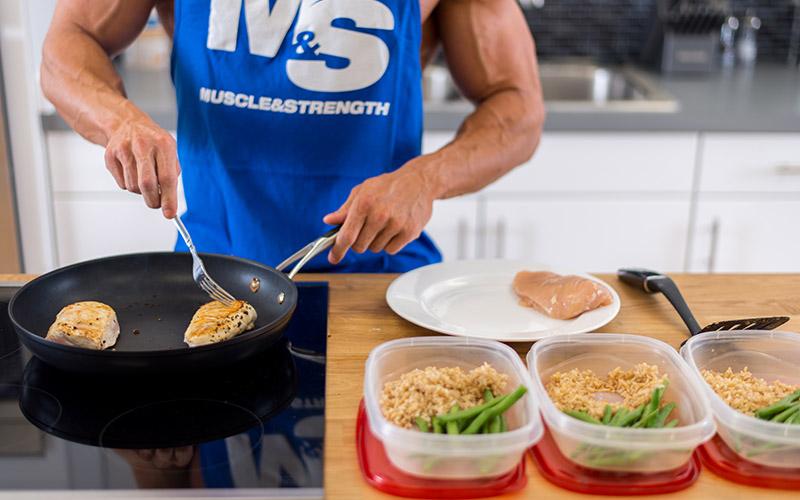 Программа питания для набора массы для мужчин