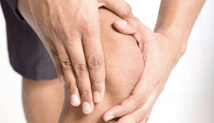 Снижение болей в коленях