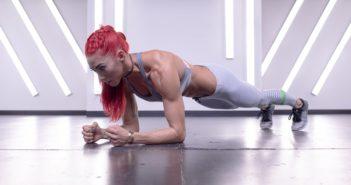 Тренировка мышц кора